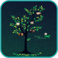Tree Collage Maker Icon