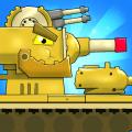 Merge Tanks 2: KV-44 Tank War Machines Idle Merger Icon