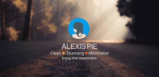 Alexis Pie Icon Pack: Clean and Minimalistic apk