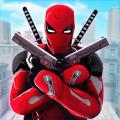 Superhero Game: City Ninja Robot Street Fights Icon