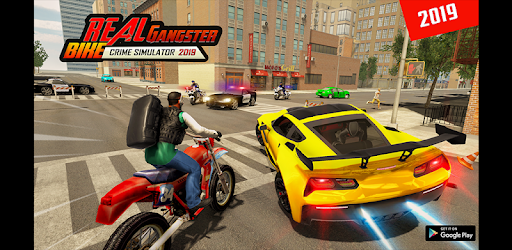 City Gangster Motor Bike Chase 2019 apk