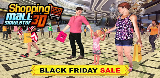 Black Friday sale shopping mall cashier ATM machin apk