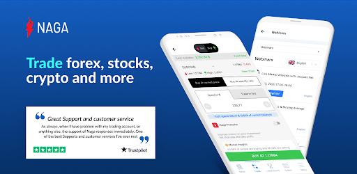 NAGA - Social Trading Stocks, Forex and Crypto apk