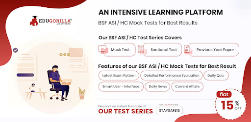BSF ASI/HC Exam: Online Mock Tests apk