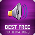 Free Notification & SMS Sounds – Best Ringtones Icon