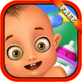Newborn Baby Care - Girls Game Icon