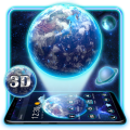 3D Earth Launcher Icon
