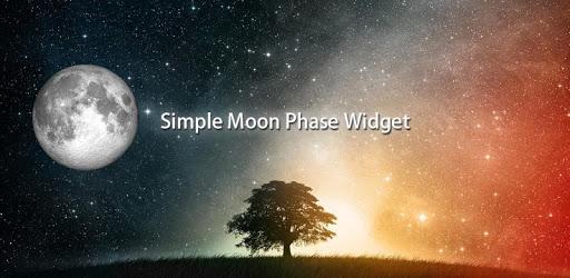 Simple Moon Phase Widget apk