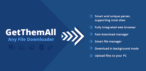 GetThemAll Any File Downloader apk