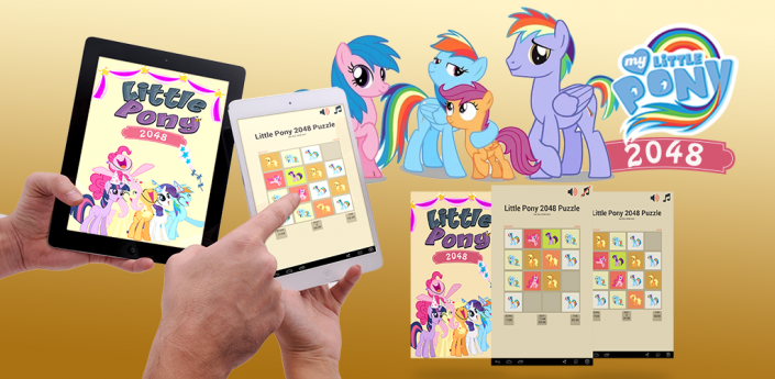 Little Pony 2048 Puzzle apk