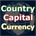 World Flag Quiz & Country Capital Currency Info Icon