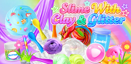 Slime With Clay & Glitter - Satisfying Slime apk