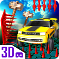 Impossible car escape 3d stunts Speed Racing mania Icon