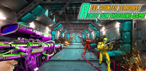 Real Counter Terrorist Robot Gun Shooting Game apk