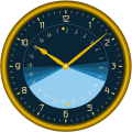 Sunclock - Astronomical Clock, Sunrise, Sunset Icon