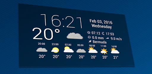 Simple Time & Weather Widget apk