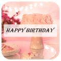 Happy Birthday Greeting Card Icon