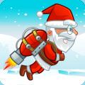 Flying Santa Gifts Icon