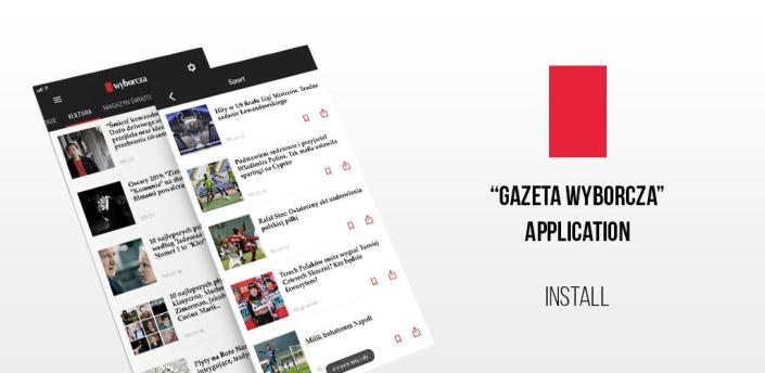 Gazeta Wyborcza - facts, politics, business, sport apk