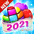 Candy House Fever - 2021 free match game Icon