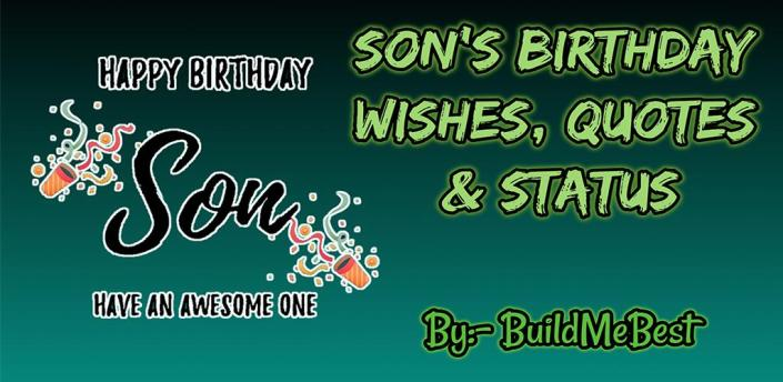 Happy Birthday Son wishes, Quotes & Greeting Cards apk