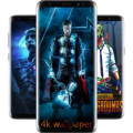 SuperWall - 4K Superhero Wallpapers and background Icon