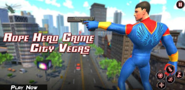 Rope Amazing Hero Crime City Simulator apk
