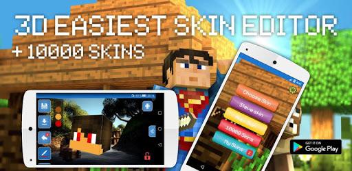 Skins Editor for Minecraft PE (3D) apk