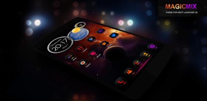 MagicMixPro Theme for Next Launcher 3D apk