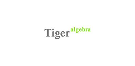 Tiger — Algebra & Maths Solver with Solution apk