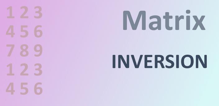 Matrix Inversion apk
