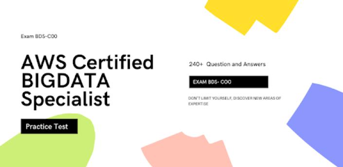 AWS Certified Big Data Specialty Practice Test apk