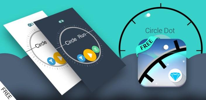 Circle Run - 360 Spikes Game apk