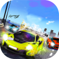 Street Racer Battle Adrenaline Rush War Icon