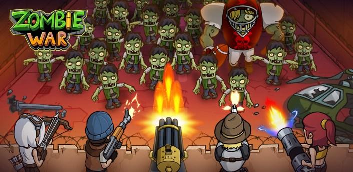 Zombie War: Idle Defense Game apk