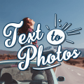Add Text to Photos - Photo Text Edit, Quotes Maker Icon