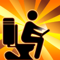 Toilet Crazy Rush - Toilet & Bathroom Time Games Icon