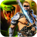 Barbarian Snakes War 3D Icon
