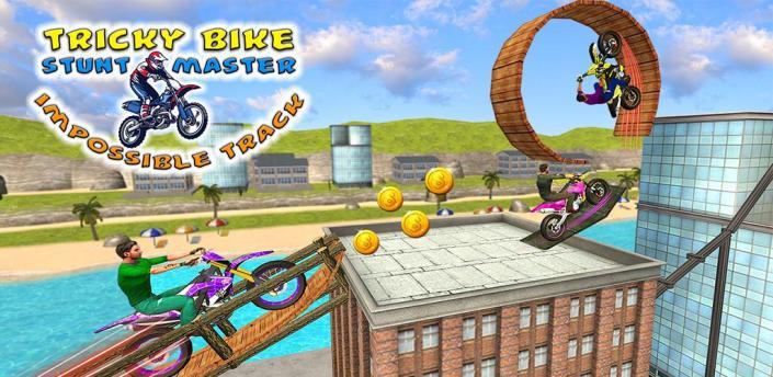 Tricky Bike Stunt Master - Impossible Track apk
