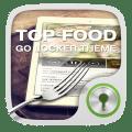 GO Locker Top Food Theme Icon