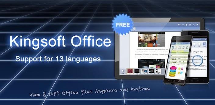 Kingsoft Office(International) apk
