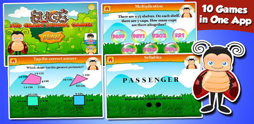 Bugs 3rd Grade Learning Games apk