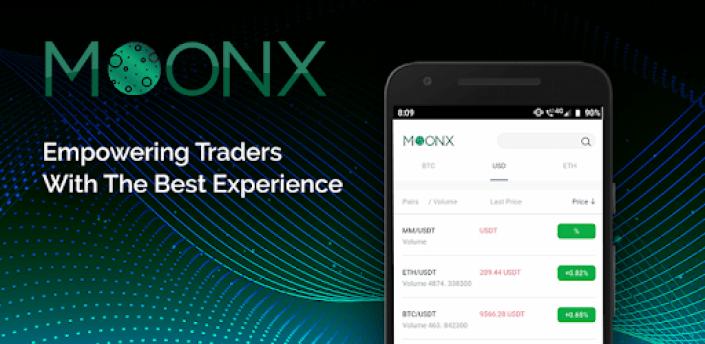MoonX - Crypto Trading Platform apk