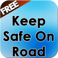 Keep Safe On Road Icon