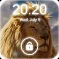 4K Lion Lock Screen Icon