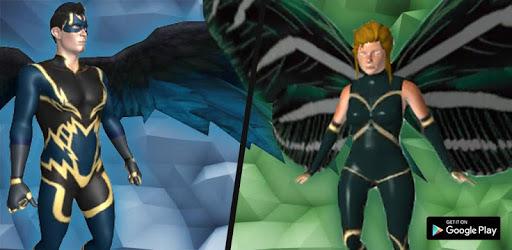 Flying Future Hero Game 2: Superhero Games 2020 apk