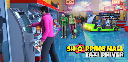 Shopping Mall Radio Taxi Driving: Supermarket Game apk