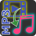 Video to mp3, mp2, aac or wav. Batch converter Icon