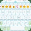 Snow Flake Love Keyboard Theme Icon