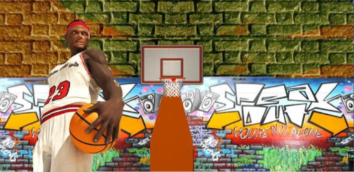 Flick Basketball shooting arcade game - Dunk game apk